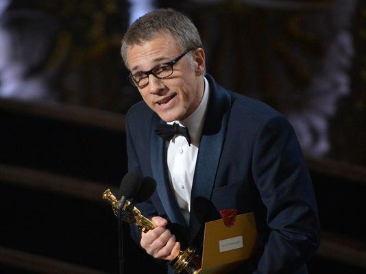 Christoph Waltz - zwycięza w kategorii najlepszy aktor drugoplanowy (Oskary 2013)