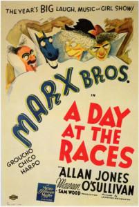 Dzień na wyścigach Braci Marx - komedia (1937)
