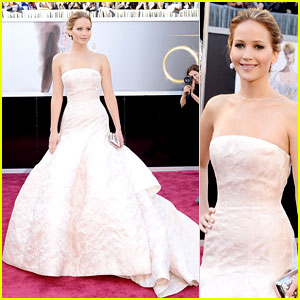 Jennifer Lawrence zdobywczyni Oscara 2013 w kategorii Najlepsza aktorka