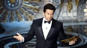 Mark Wahlberg na ceremonii rozdania Oscarów 2013
