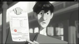 Paperman - najlepszy film animowany krótkometrażowy na gali oscarów 2013