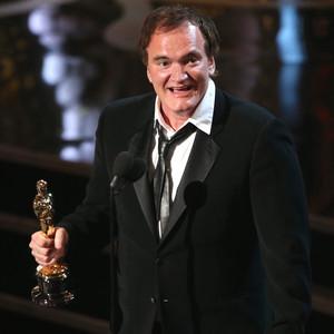 Quetnin Tarantino zwycięża w kategorii Najlepszy scenariusz na gali oscarów 2013