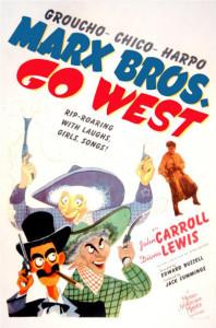 Bracia Marx na Dzikim Zachodzie - komedia z 1940 roku